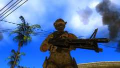 A metralhadora de M60E4