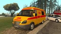 GÁS ressuscitação 32217 para GTA San Andreas