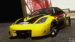 Nissan 350Z Rockstar para GTA San Andreas