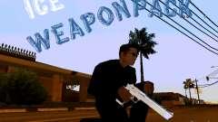 Ice Weapon Pack para GTA San Andreas