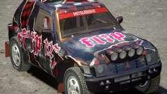 Mitsubishi Pajero Proto Dakar vinil 3