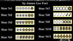 Novas estrelas para o capuz # 9