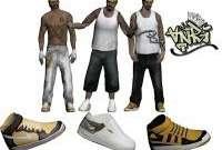 Skin Pack Vagos para GTA San Andreas