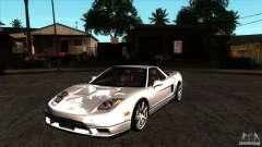 Acura NSX Stock para GTA San Andreas