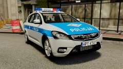 Kia Ceed 2011 SW Polish Police ELS