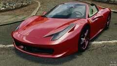 Ferrari 458 Spider 2013 v1.01 para GTA 4