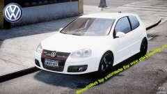 Volkswagen Golf 5 GTI para GTA 4