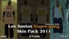 Novas skins The Gang de Vagos