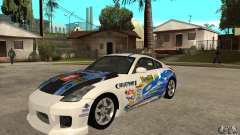 Nissan 350z Stock - Tunable para GTA San Andreas