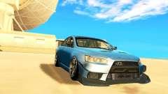 Mitsubishi Lancer Evolution X Time Attack para GTA San Andreas
