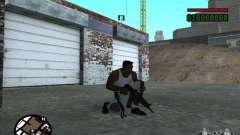 AK-74 (sem estoque) para GTA San Andreas