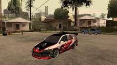 Mitsubishi Lancer Evolution 8 GReddy para GTA San Andreas