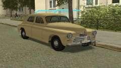 GAZ M20 Pobeda 1949