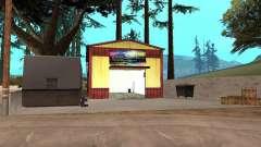 Garagem de pintura nova em Dillimore