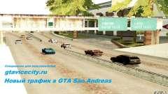 Um novo algoritmo para tráfego automóvel para GTA San Andreas