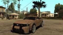 Ford Mustang GT prata para GTA San Andreas