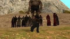 Personagens de Pak atualizadas do Resident Evil 4 para GTA San Andreas