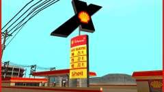 Novo posto de gasolina Shell para GTA San Andreas