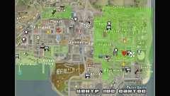 Novos ícones do mapa