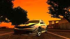 Subaru Impreza WRX 2008 Tunable para GTA San Andreas