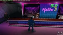 Novas texturas Malibu Club para GTA Vice City