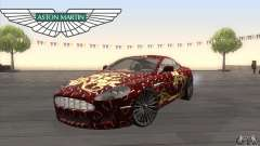 Aston Martin DB9 Female Edition para GTA San Andreas