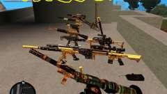Smalls Chrome Gold Guns Pack