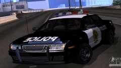 NFS Undercover Police Car para GTA San Andreas