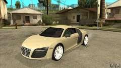 Audi R8 V10 5.2 FSI Quattro para GTA San Andreas