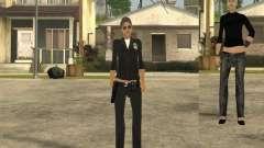 Pele de garota DD para GTA San Andreas