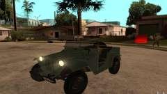 GAZ-67 b para GTA San Andreas