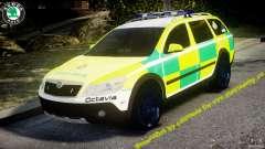 Skoda Octavia Scout Paramedic [ELS]
