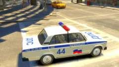 Polícia Vaz-2105