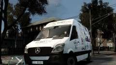 Euro 2012 Bus Mercedes Sprinter