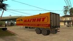 Íman em forma de trailer