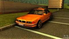 BMW 730i Taxi