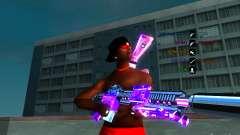 Cromo roxo em armas