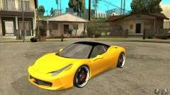 Ferrari 458 Italia custom