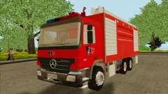 Mercedes Benz Actros Bomberos C1 para GTA San Andreas