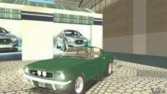 Ford Mustang Fastback 1967 para GTA San Andreas