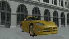 Dodge Viper SRT-10 (dourado Viper) para GTA San Andreas