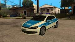 Volkswagen Scirocco German Police
