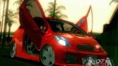 Toyota Yaris Borgonha para GTA San Andreas