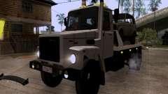 Caminhão de reboque de GAZ 3309