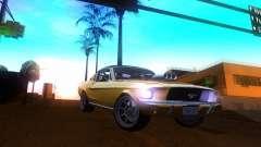 Ford Mustang 1967 GT Tuned para GTA San Andreas