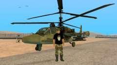 Ka-52 Alligator para GTA San Andreas