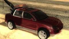 Porsche Cayenne Towtruck para GTA San Andreas