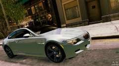 2010 BMW M6 prata para GTA 4