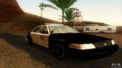 Ford Crown Victoria Oklahoma Police para GTA San Andreas