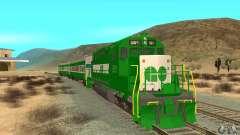 THE GO Transit Train para GTA San Andreas